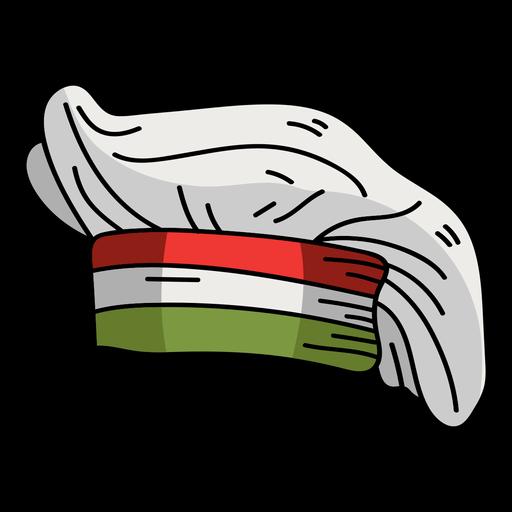 Cap hat toque flat Transparent PNG
