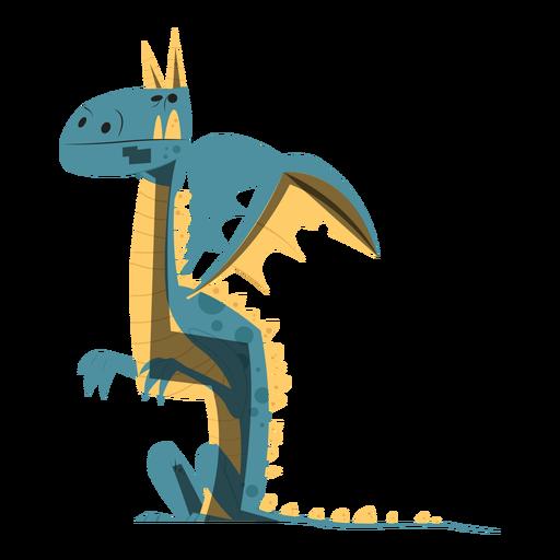 Dragon Sitting Sketch Transparent Png Svg Vector File