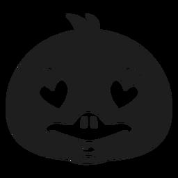 Pato enamorado bozal cabeza golpe