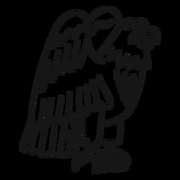 Curso de tatuagem de asa de garra de águia