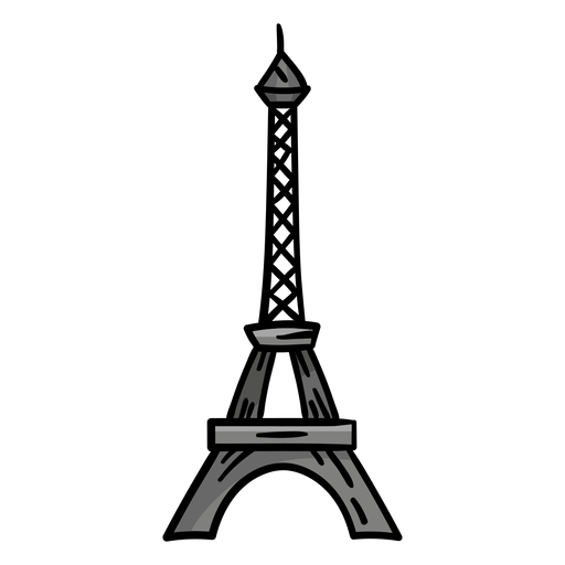 Eiffel tower tour eiffel sketch Transparent PNG