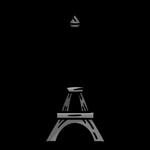 Eiffel tower tour eiffel sketch
