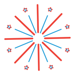Feuerwerksgrußsternstrahl-Strahln-Abzeichenaufkleber