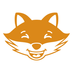 Fox Happy Head Maulkorb flach