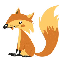 Fox tail sketch