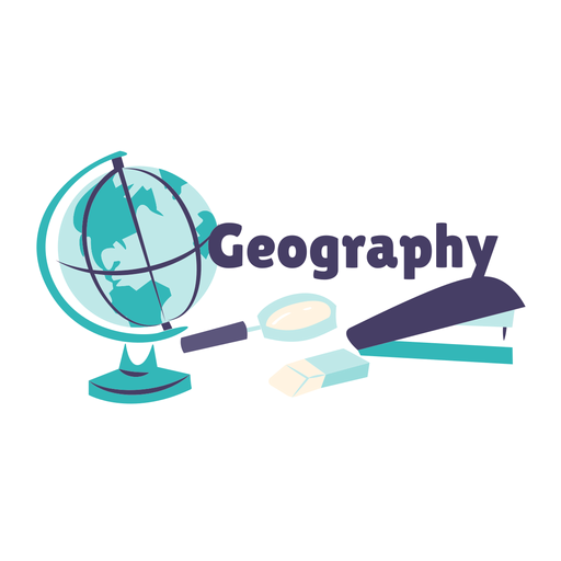 Insignia de globo de geografía Transparent PNG
