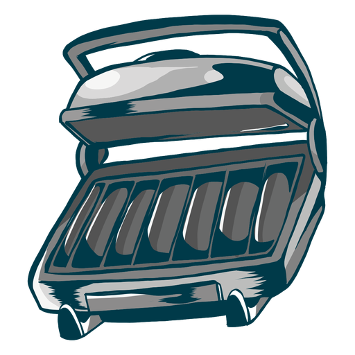 Grill roaster flat Transparent PNG
