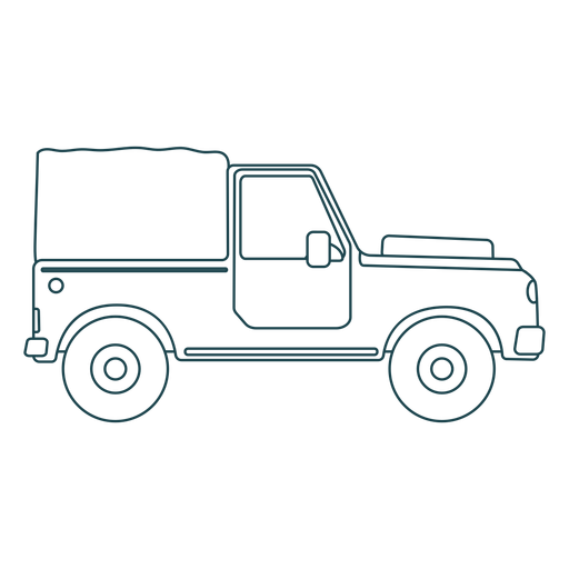 Jeep body car vehicle wheel stroke Transparent PNG