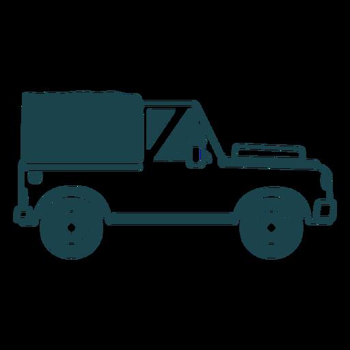 Jeep carrocería vehículo rueda coche silueta detallada Transparent PNG