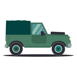 Carro jipe carro veículo roda plana