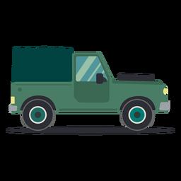 Jeep carrocería vehículo rueda coche plano