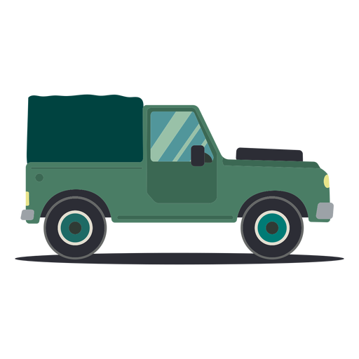 Jeep body vehicle wheel car flat Transparent PNG