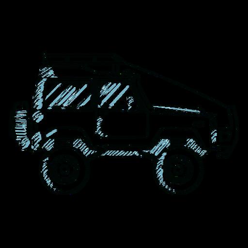 Jeep carrocería vehículo línea de ruedas Transparent PNG