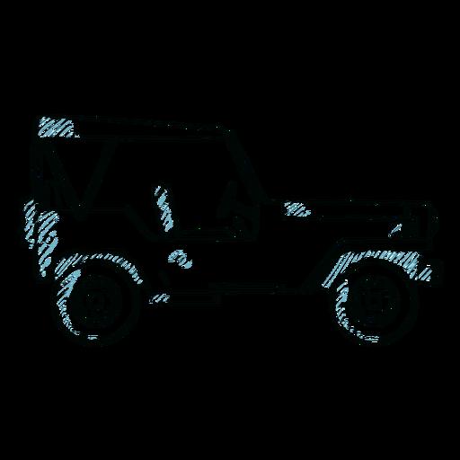 Jeep coche vehículo carrocería línea de rueda Transparent PNG