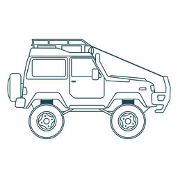 Jipe carro veículo corpo roda curso