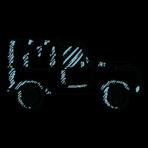 Jeep coche vehículo rueda carrocería línea Transparent PNG
