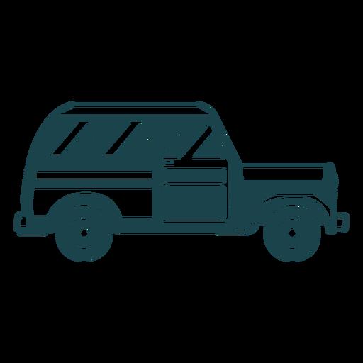 Jeep vehículo carrocería rueda de coche silueta detallada Transparent PNG