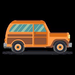 Jeep vehículo carrocería rueda plana