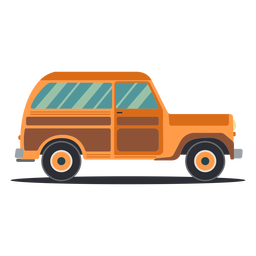 Jipe carroceria de veículo com roda plana
