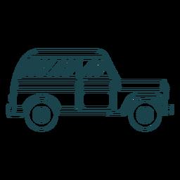 Curso de roda de carro de corpo de veículo de jipe
