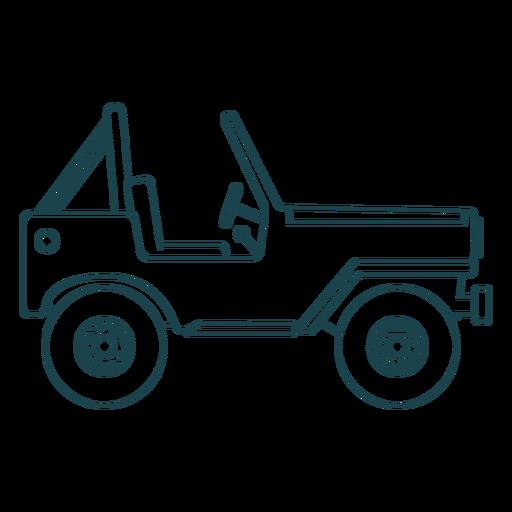 Jeep vehicle body wheel car stroke