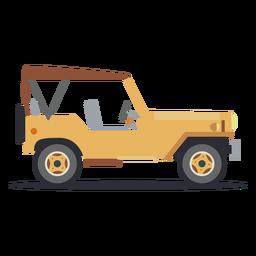 Jeep veículo carro corpo roda plana