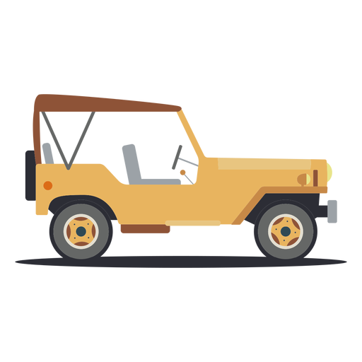 Jeep vehicle car body wheel flat Transparent PNG