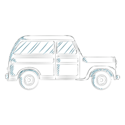 Línea de ruedas de carrocería de vehículo Jeep