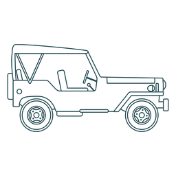 Jeep vehicle car body wheel stroke