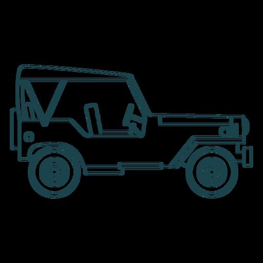 Jeep vehículo carrocería carrocería rueda Transparent PNG