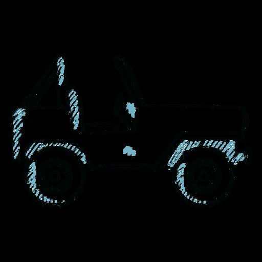 Línea de carrocería de rueda de vehículo Jeep Transparent PNG