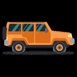 Jeep Fahrzeug Radkörper Auto flach