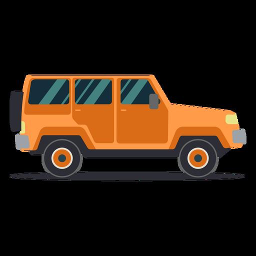 Jeep vehículo rueda carrocería coche plano Transparent PNG
