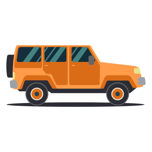 Jeep vehicle wheel body car flat Transparent PNG