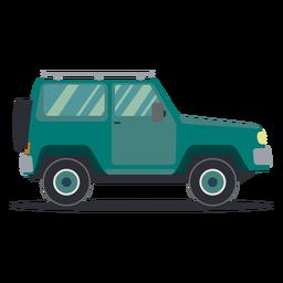 Jeep vehicle wheel car body flat
