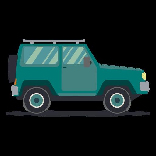 Jeep vehículo rueda carrocería plana Transparent PNG