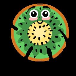 Kiwifruit kiwi flat
