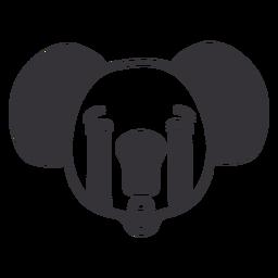 Curso de focinho de cabeça triste de coala