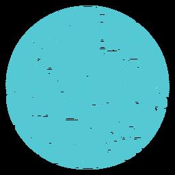 Emblema de floresta de montanha de paisagem