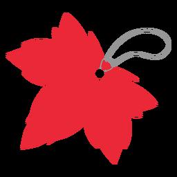 Leaf Label Tag Aufkleber Abzeichen