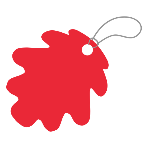 Leaf tag label sticker badge Transparent PNG