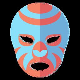 Máscara de Luchador plana