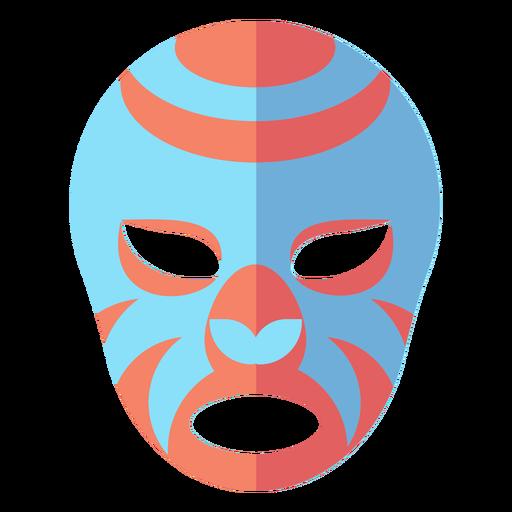 Luchador Maske flach Transparent PNG