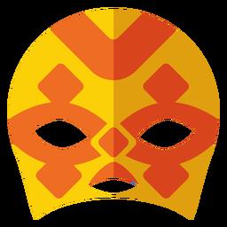 Luchador rhomb mask flat