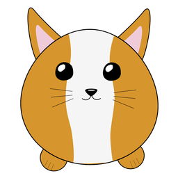 Lynx bobcat focinho fofo fofo plana