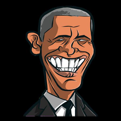 Mann Barack Obama Skizze