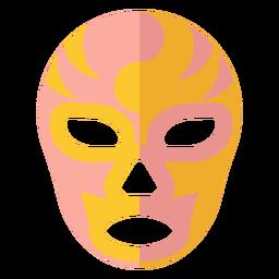Máscara luchador plana