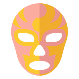 Maske Luchador flach