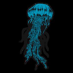 Ilustração de medusa medusa