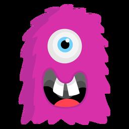 Dente de olho monstro plana